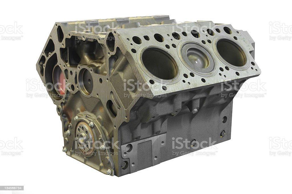 cylinder block royalty-free stock photo