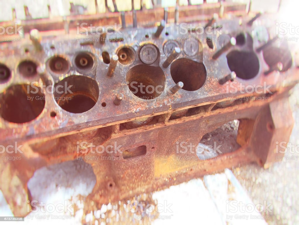 Cylinder Head stock photo