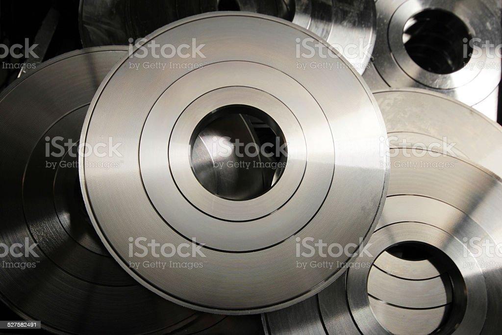 Cylinder stock photo