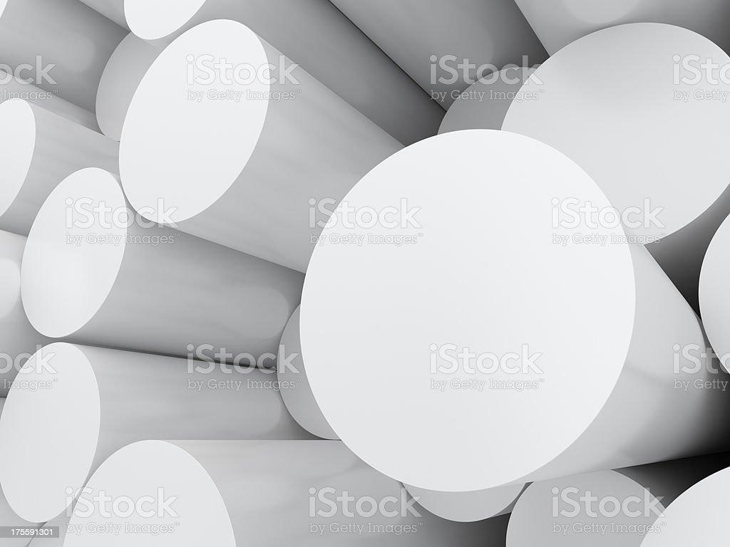 cylinders stock photo