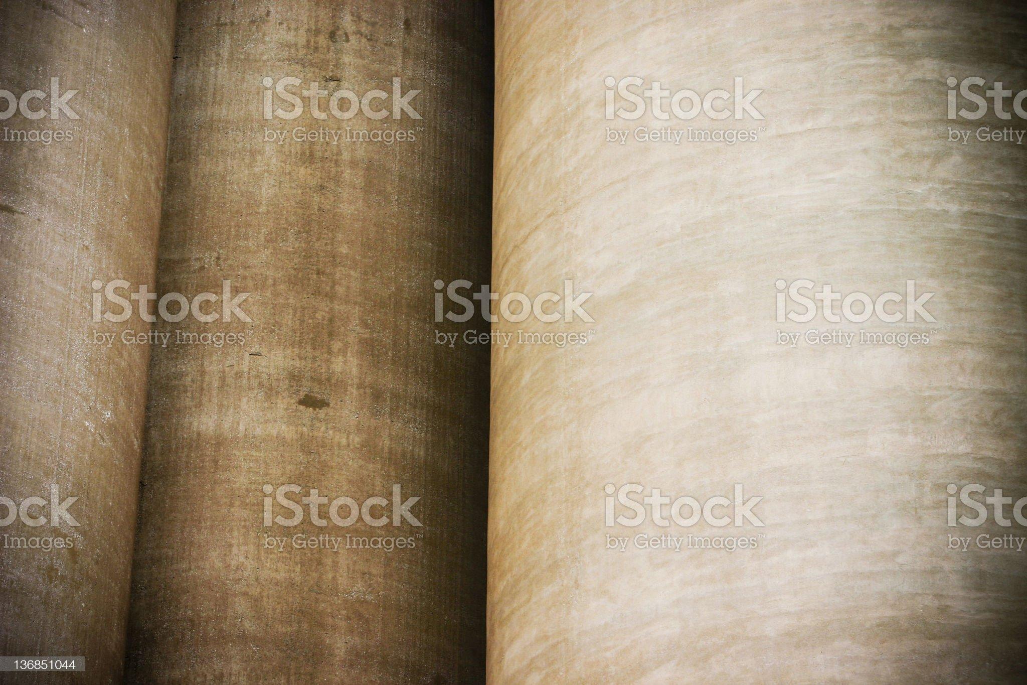 Cylindrical background royalty-free stock photo