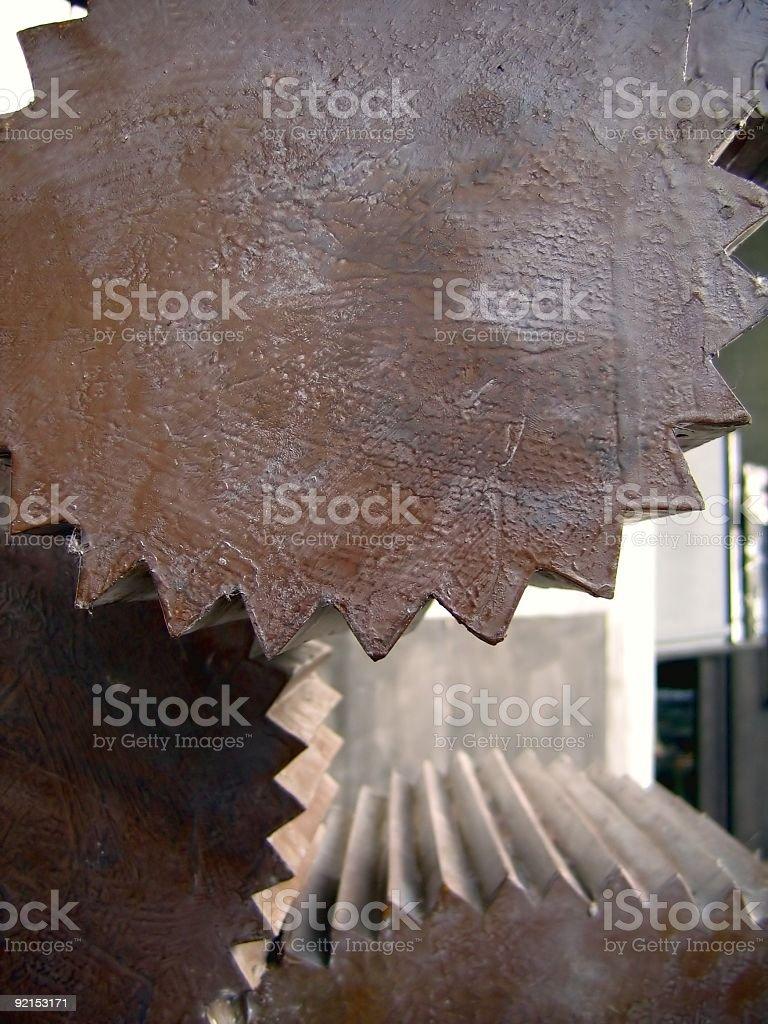 Cylindrical Gears stock photo