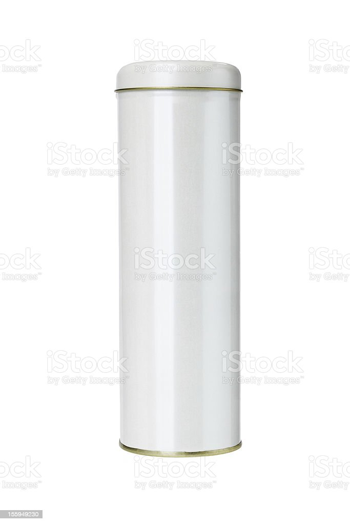Cylindrical Shaped Gift Container royalty-free stock photo
