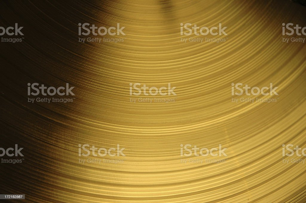 Cymbal 1 stock photo