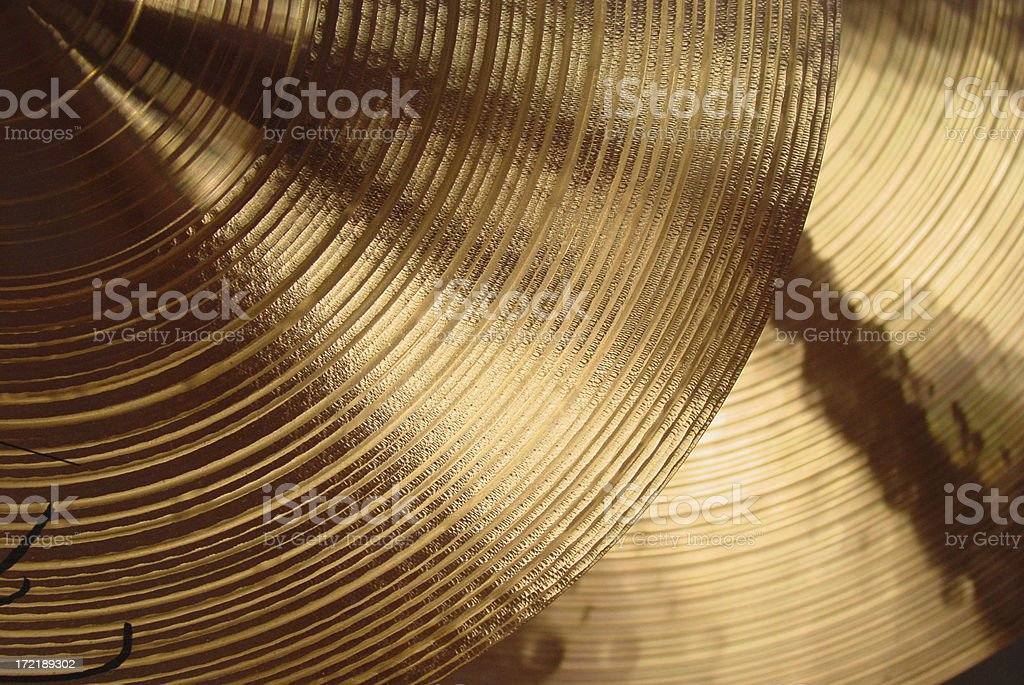 Cymbal 2 stock photo