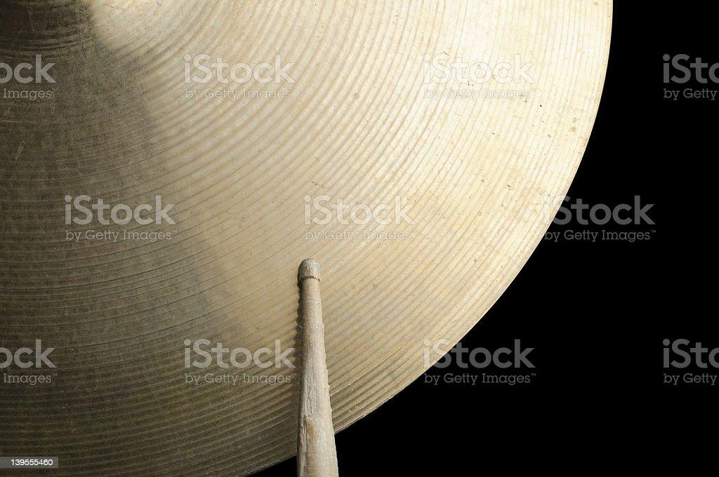 cymbal royalty-free stock photo