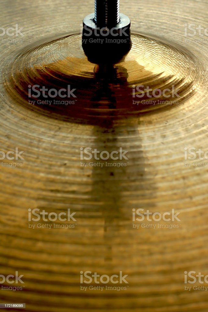 Cymbal #2 royalty-free stock photo