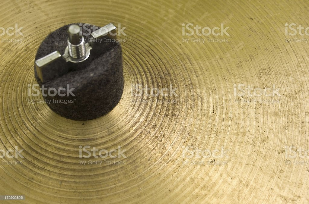 cymbal royalty-free stock photo