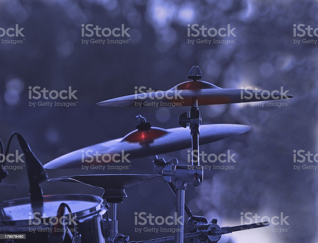 Cymbals royalty-free stock photo