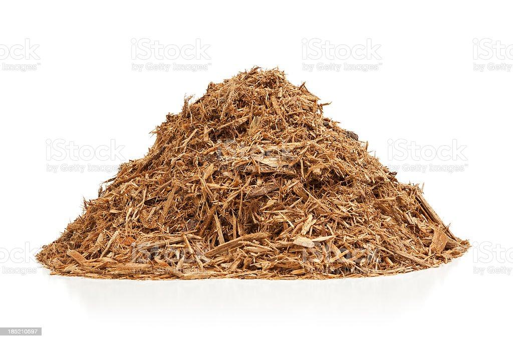 Cypress Mulch stock photo