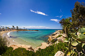 Cyprus beach panorama