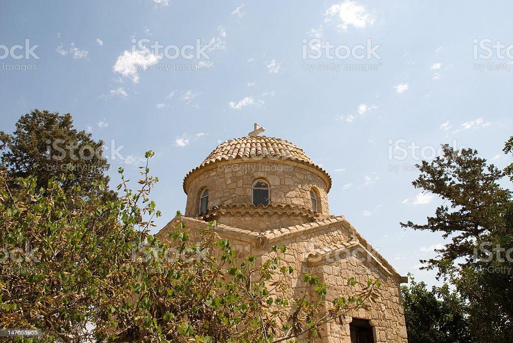 Igreja de Chipre foto royalty-free