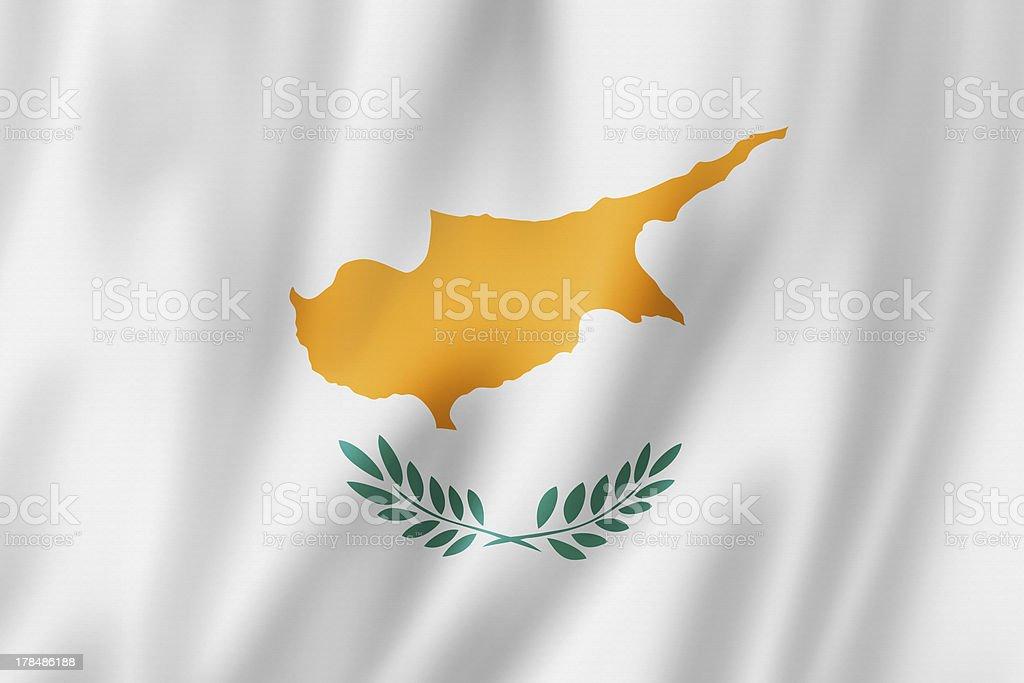 Cyprus flag royalty-free stock photo