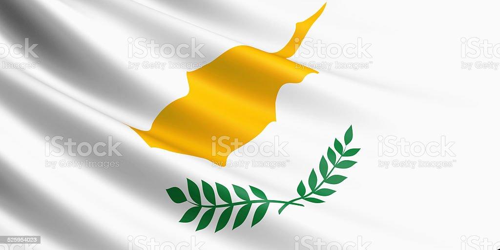 Cyprus flag. royalty-free stock photo