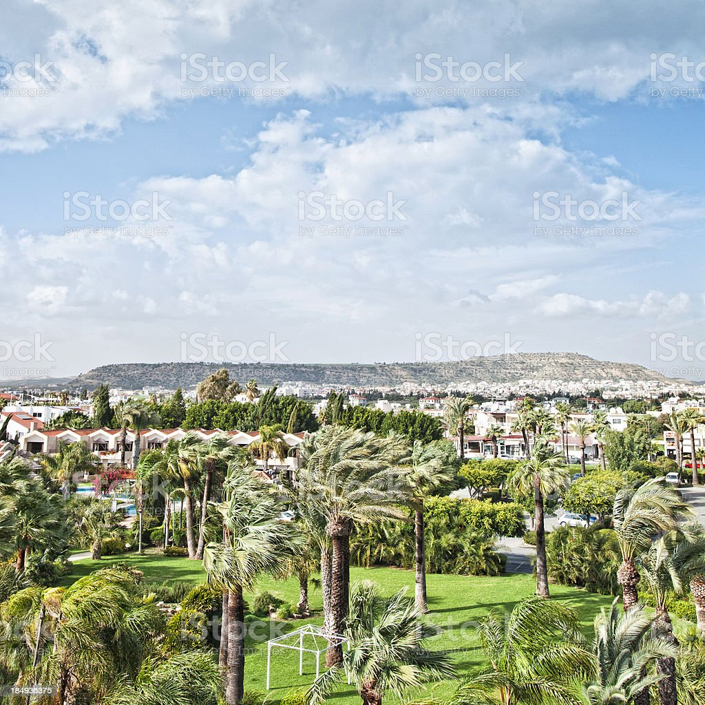 Cyprus landscape. stock photo