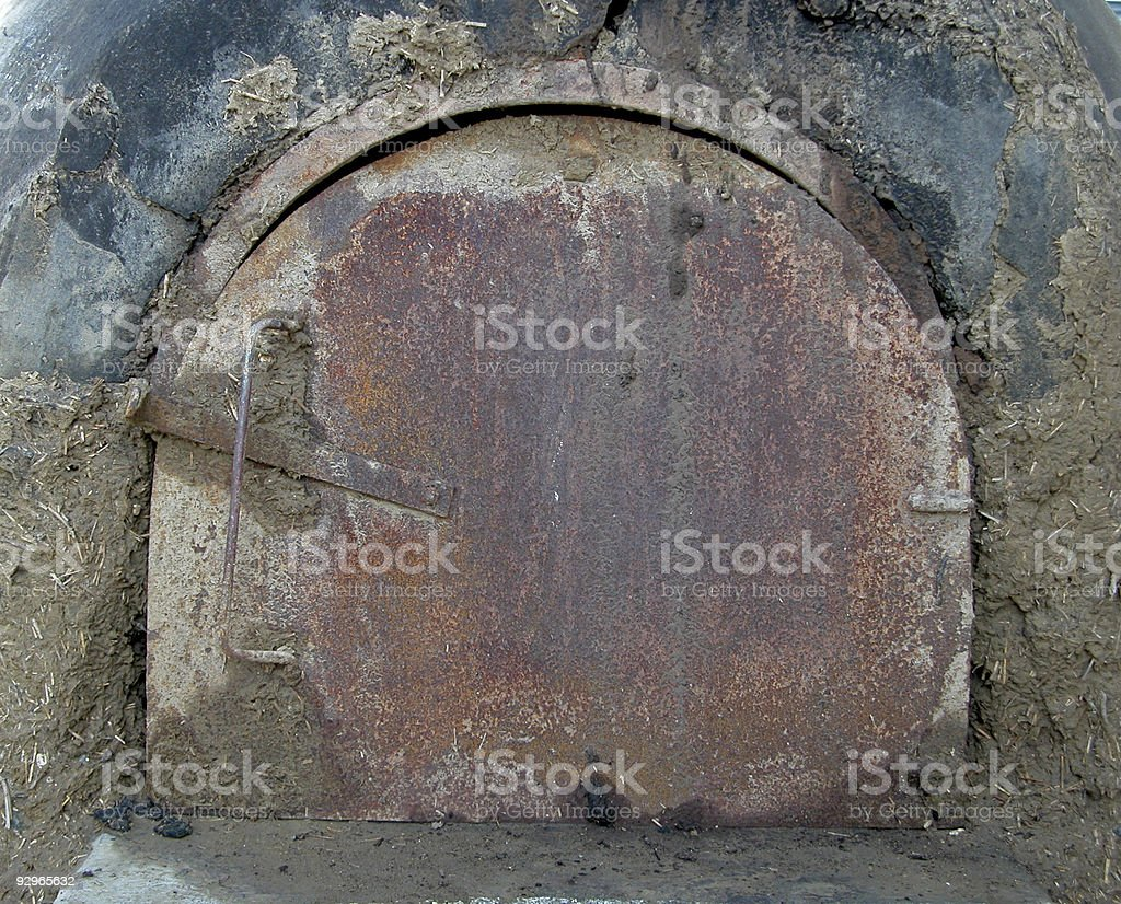 Cyprus traditional clay Oven royalty-free stock photo