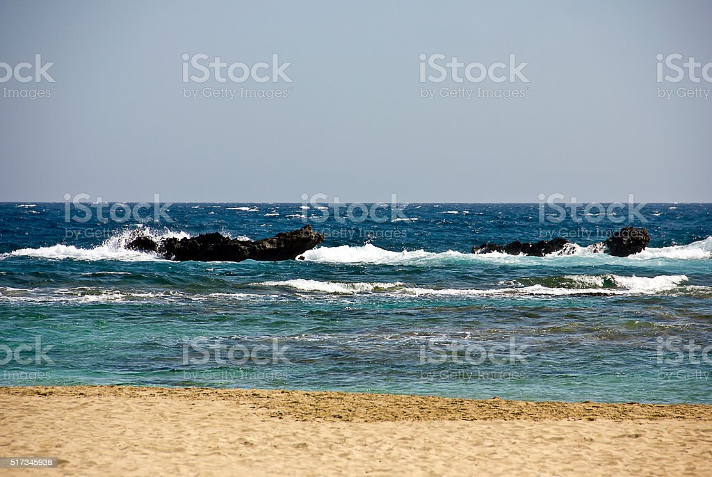 Cyprus view stock photo