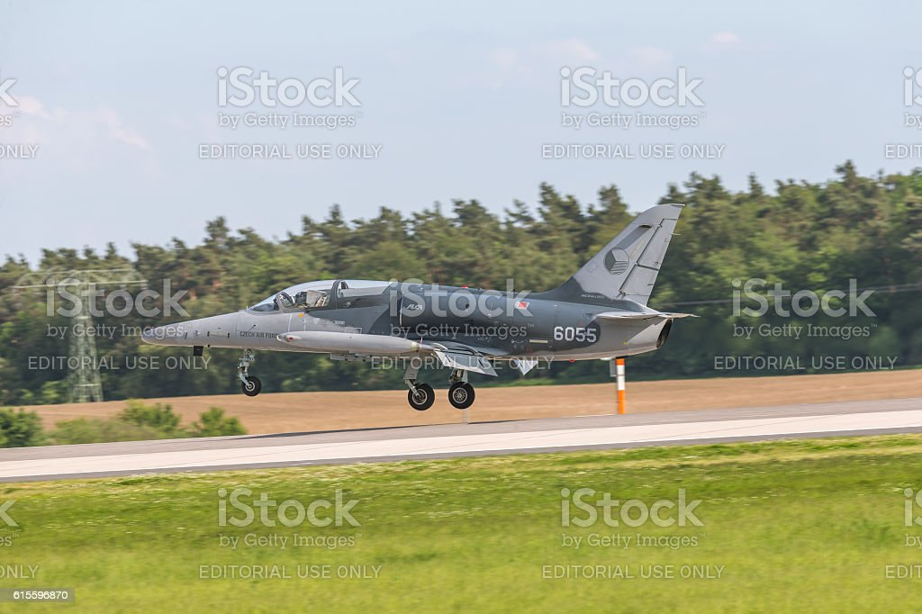 Czech Air Force Aero L-159 ALCA stock photo