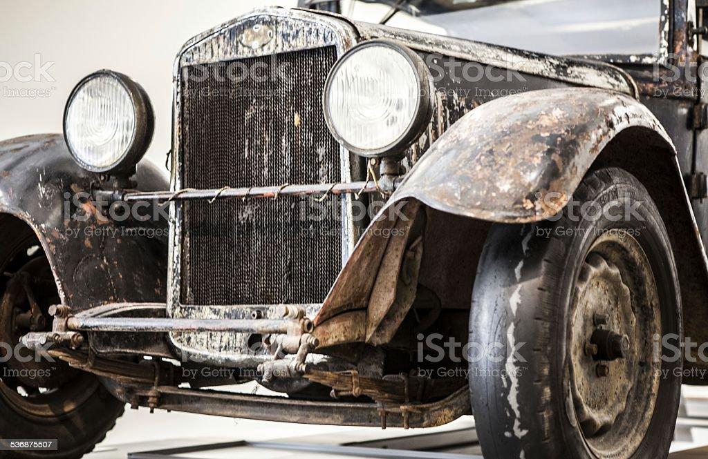 Czech antique car stock photo