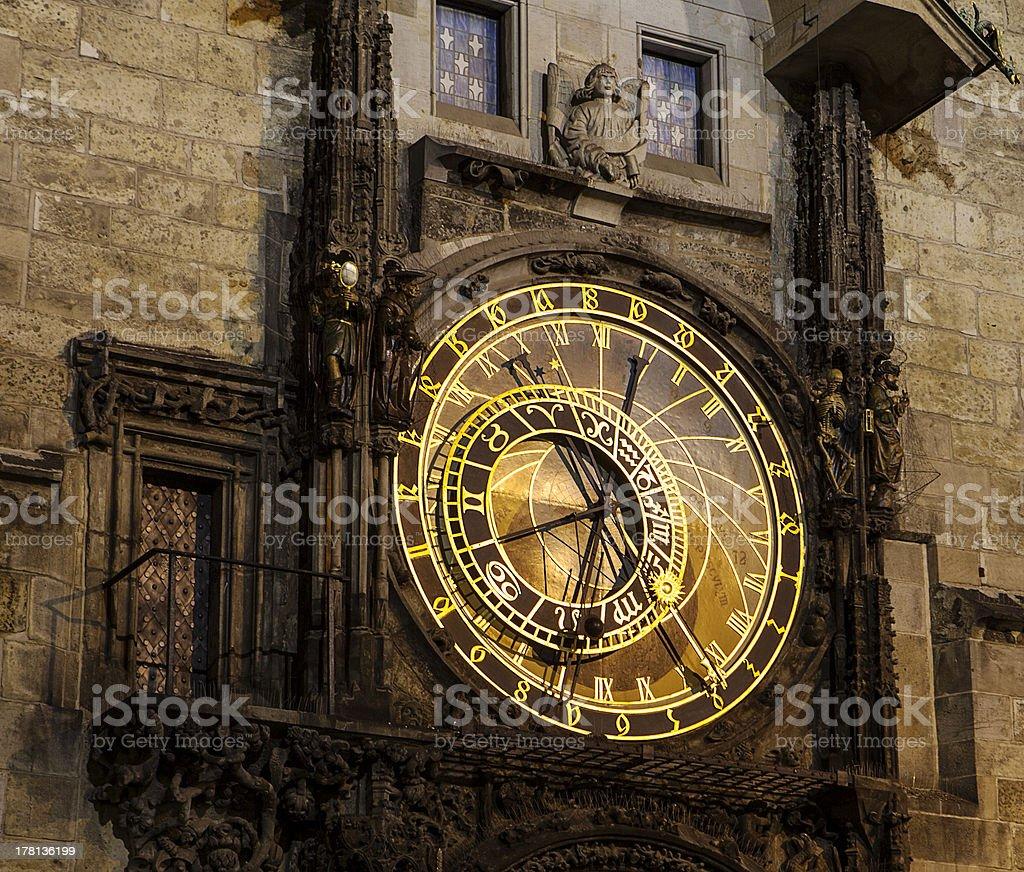 Czech Astronomical Clock royalty-free stock photo