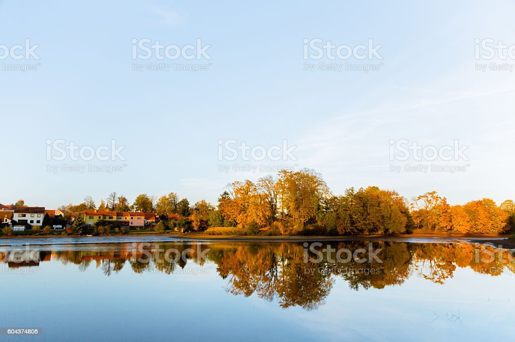 Czech Autumn stock photo