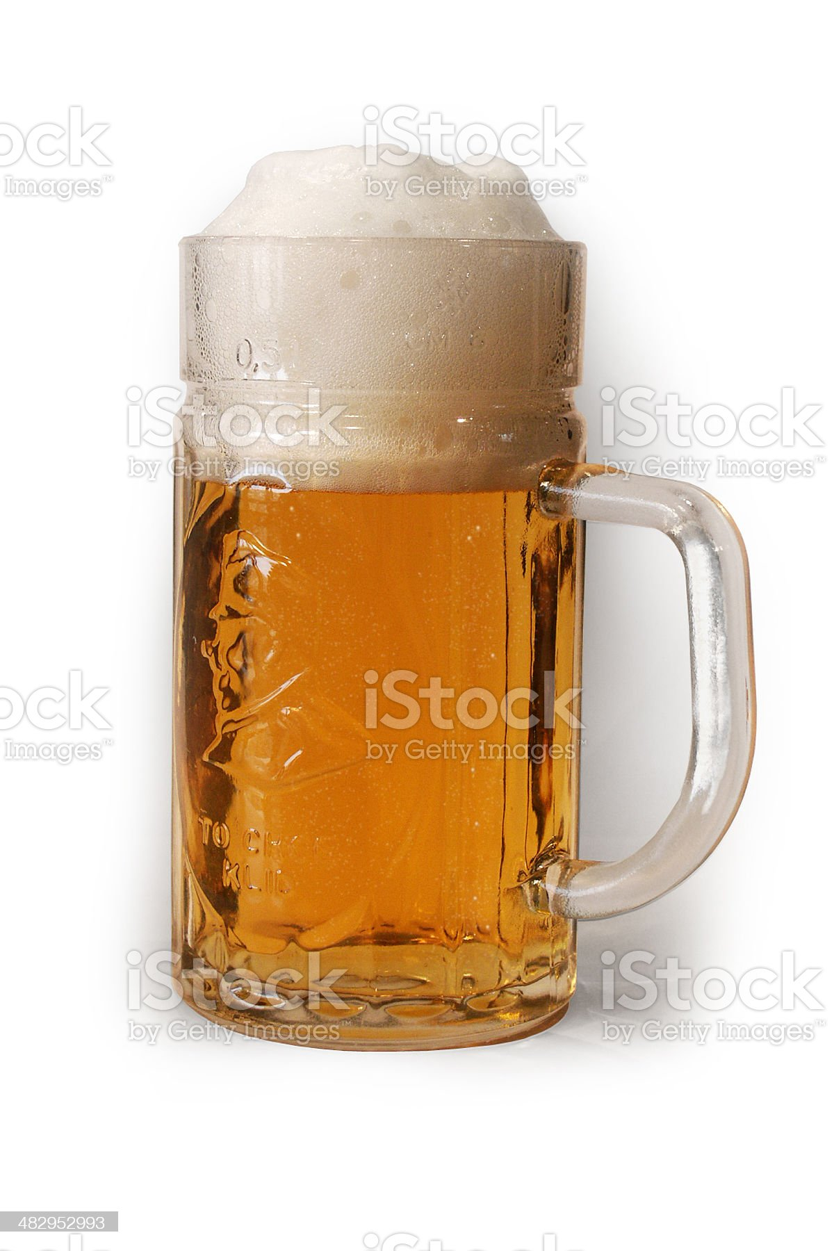 Czech beer royalty-free stock photo