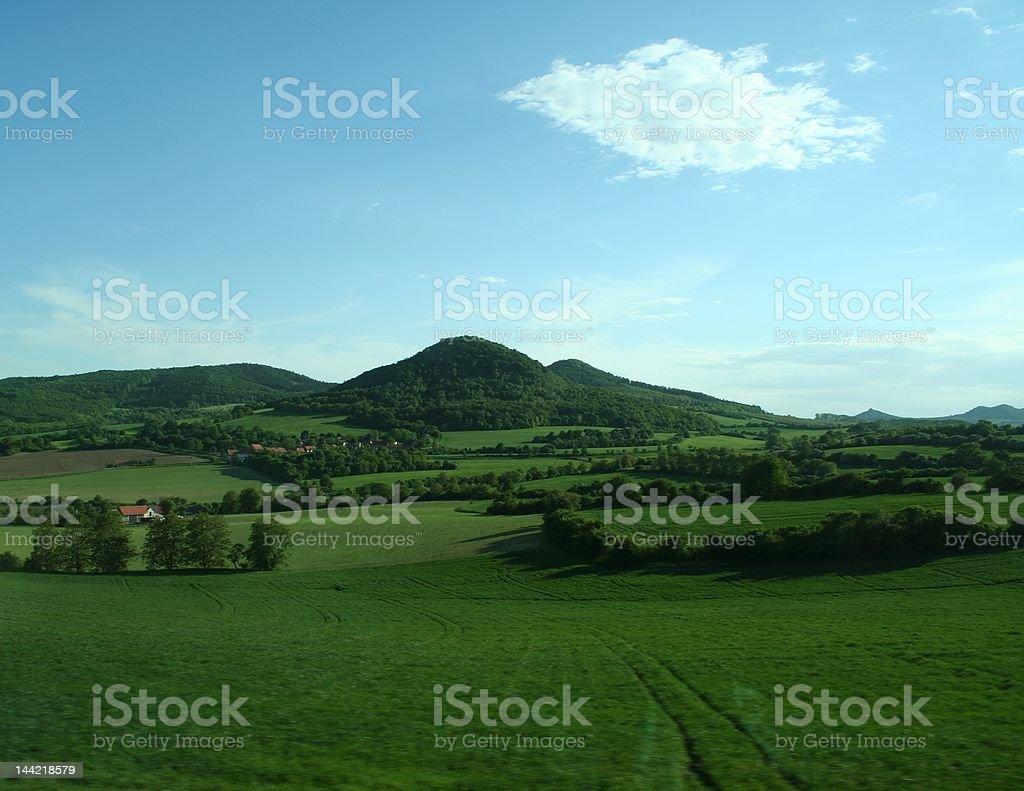 Czech Countryside stock photo