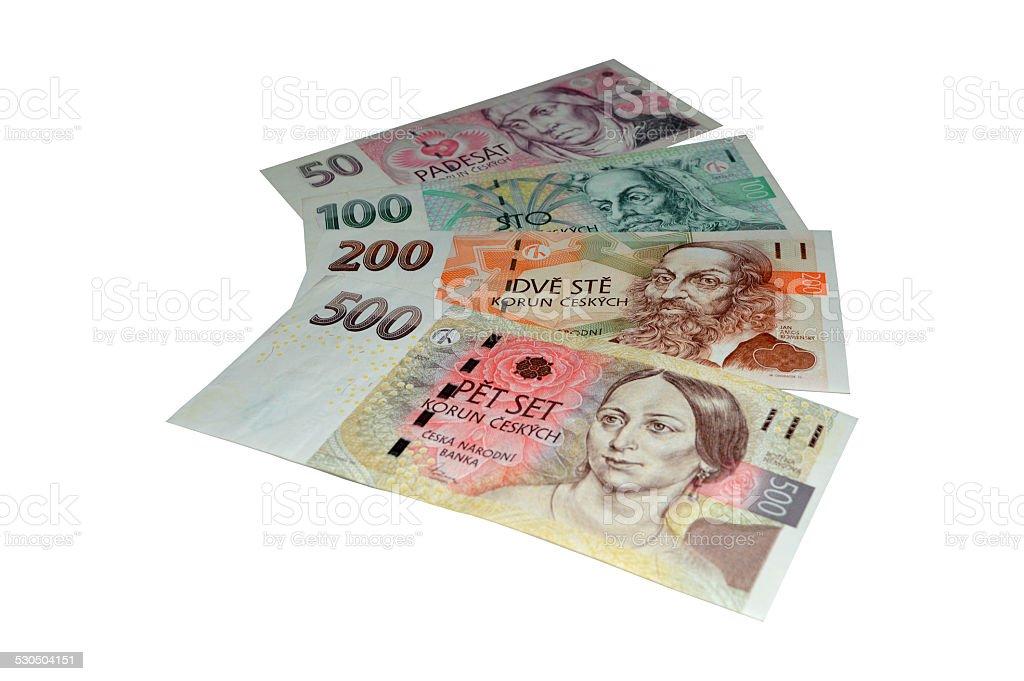 Corona checa billetes de banco foto de stock libre de derechos