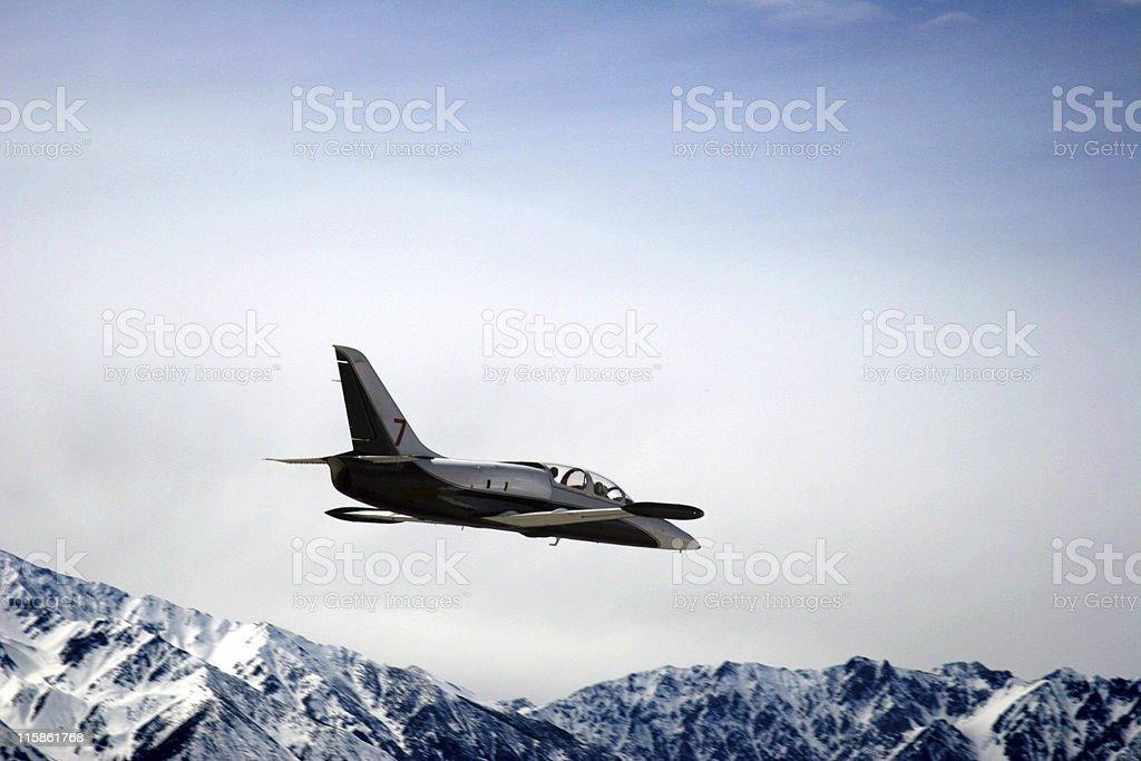 L-39 Czech Jet-5 royalty-free stock photo