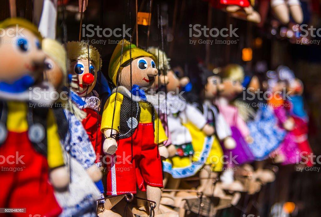 Czech Puppets stock photo