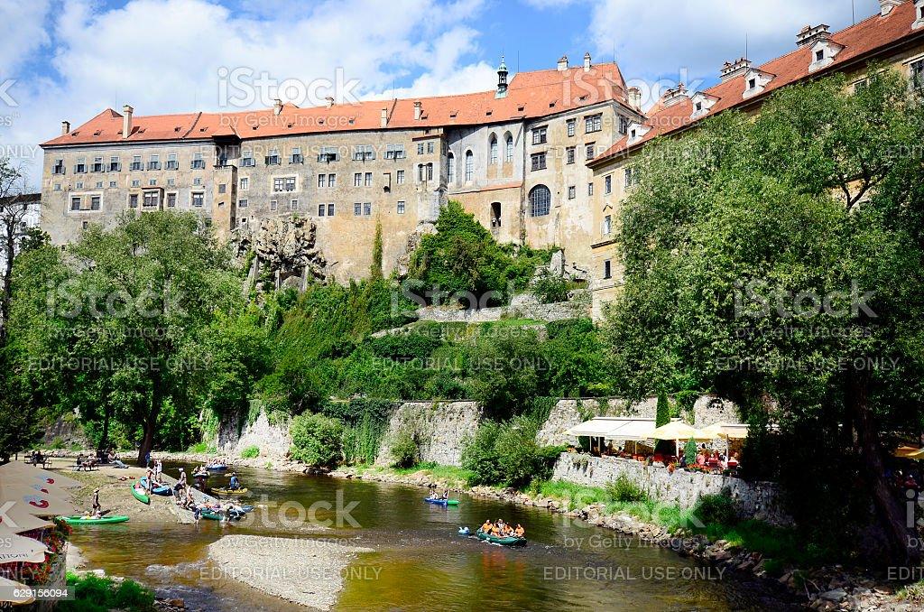 Czech Republic, Cesky Krumlov stock photo