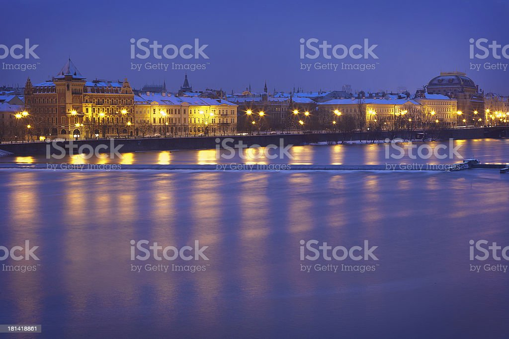 Czech Republic, Pague, Charles Bridge royalty-free stock photo