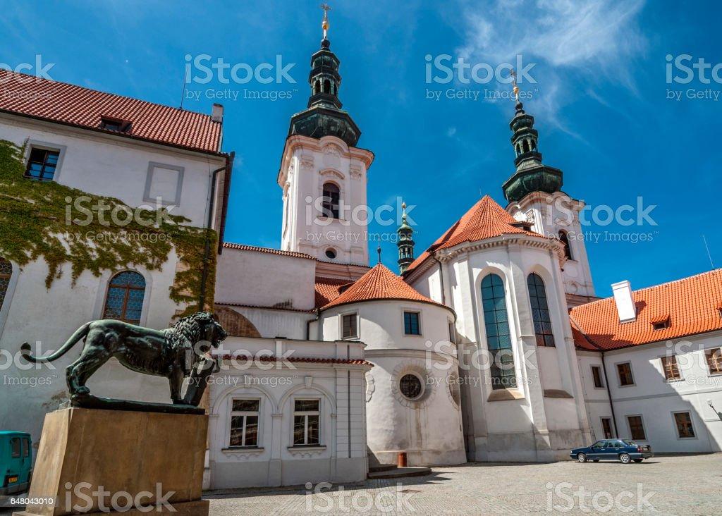 Czech Republic. Prague. Strahov Monastery stock photo
