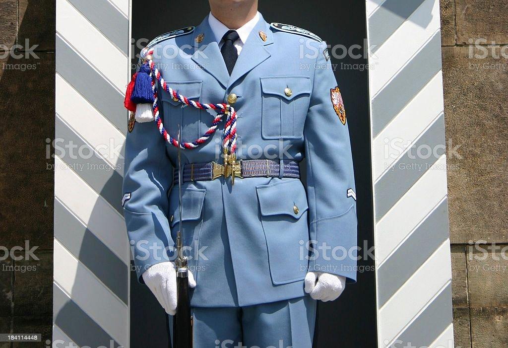 Czech Republic Royal Guard royalty-free stock photo