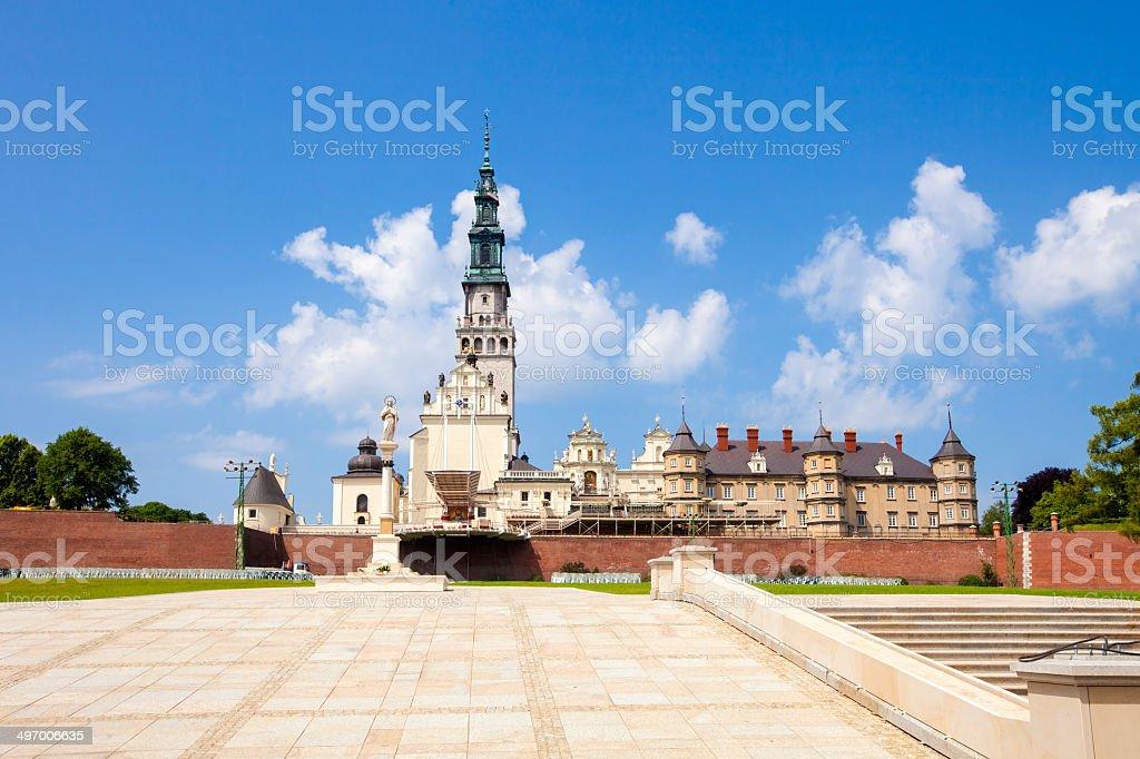 Czestochowa monastery - Poland stock photo