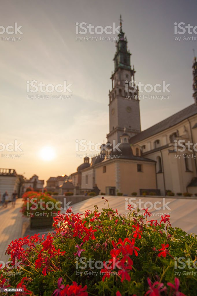 Czestochowa Sanctuary stock photo