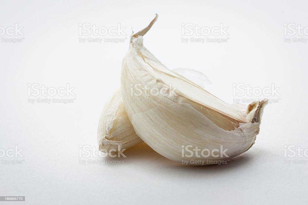 czosnek stock photo