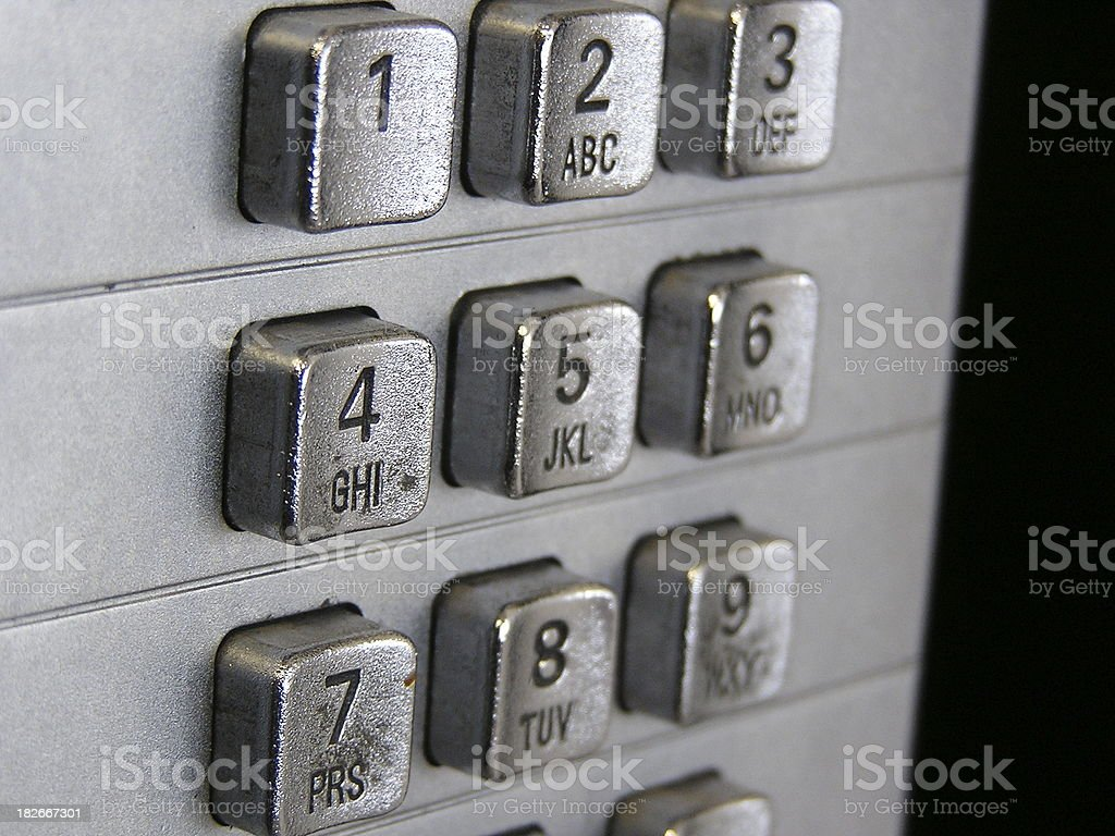 I'd Like to Make a Collect Call Please royalty-free stock photo
