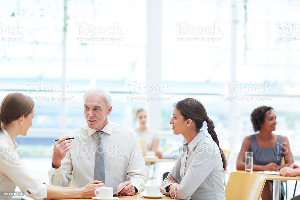 I'd like you to work together on this stock photo