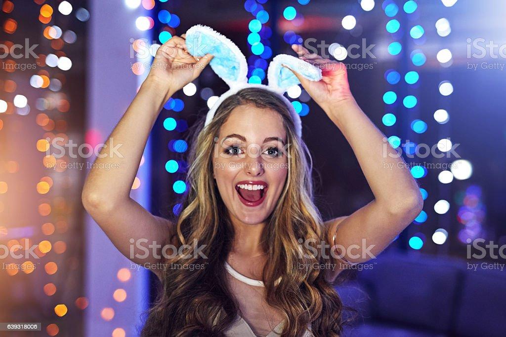 I'd make a cute bunny stock photo