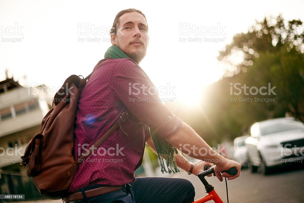 I'd rather be riding stock photo
