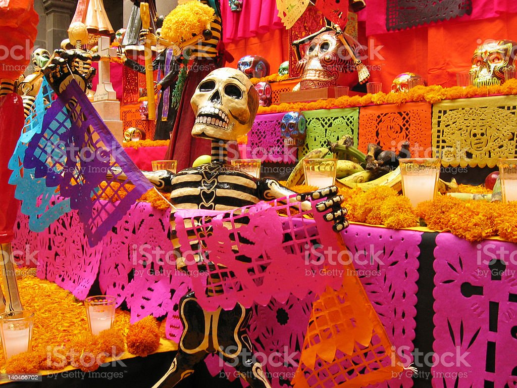 Día de Muertos stock photo