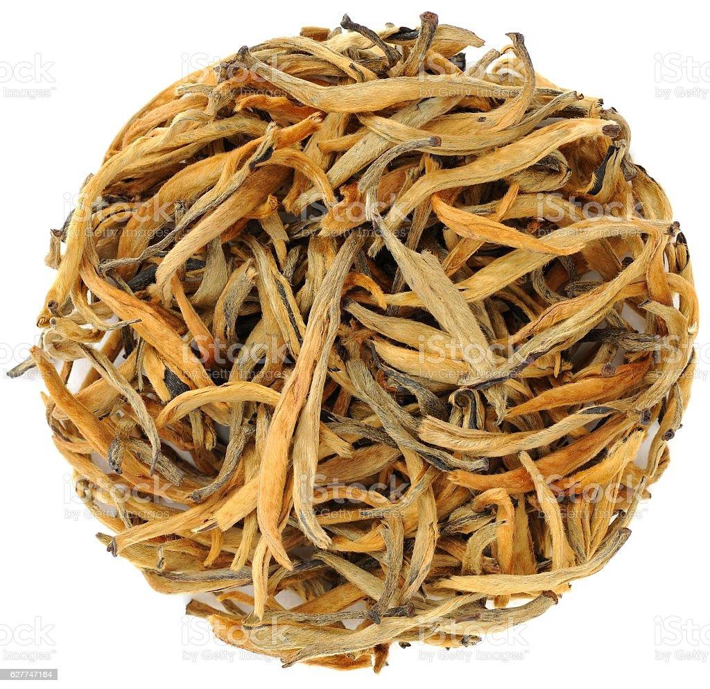 Da Jin Ya Camellia Taliensis Black Tea from Yunnan stock photo