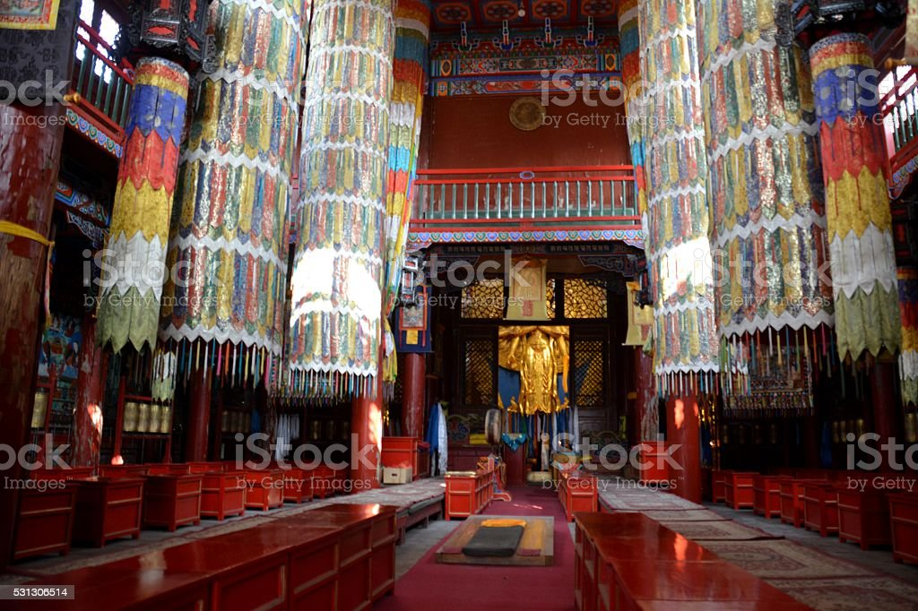 Da Zhao Temple, Hohhot, Inner Mongolia, China stock photo