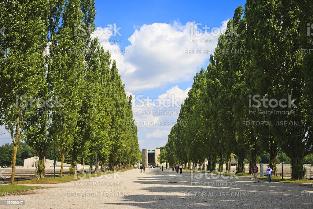 Dachau concentration camp, Germany stock photo