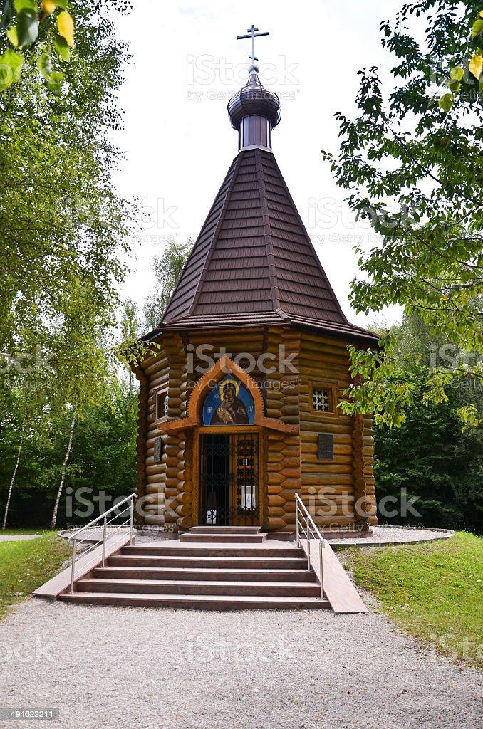 Dachau - Russian Orthodox chapel stock photo