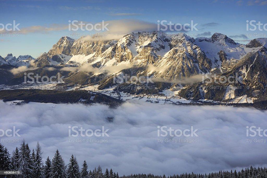 Dachstein, Austria Alps stock photo