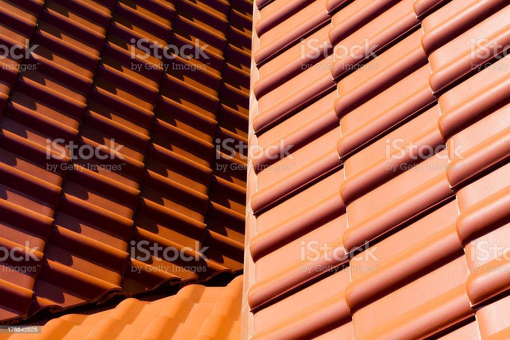 Dachziegel II stock photo
