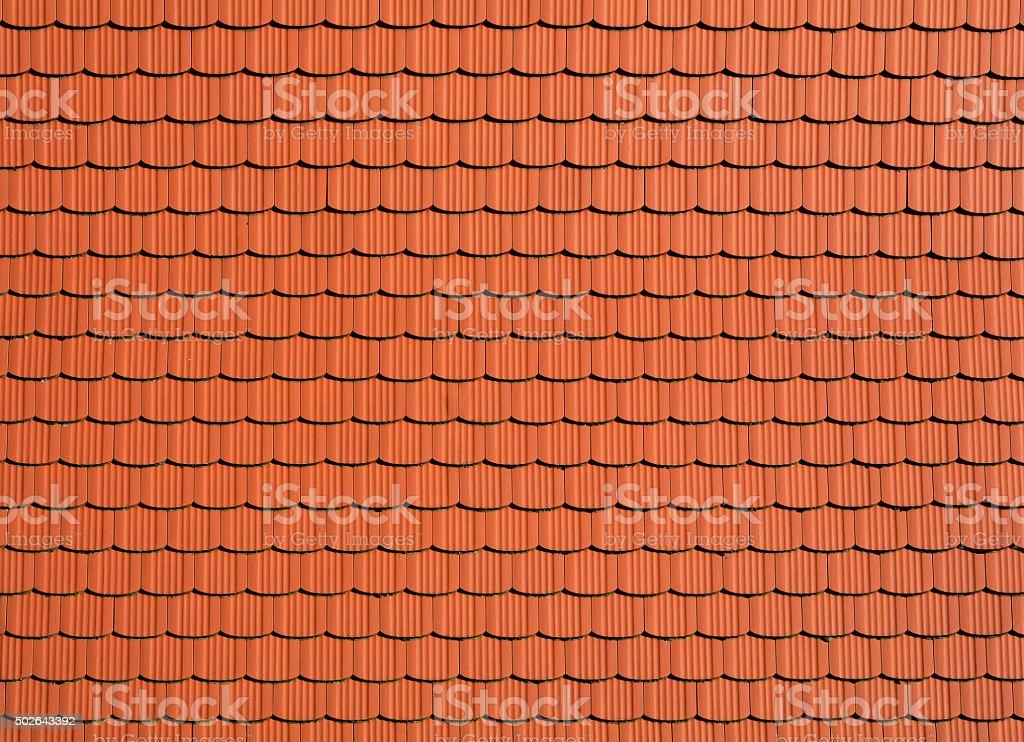 Dachziegel stock photo