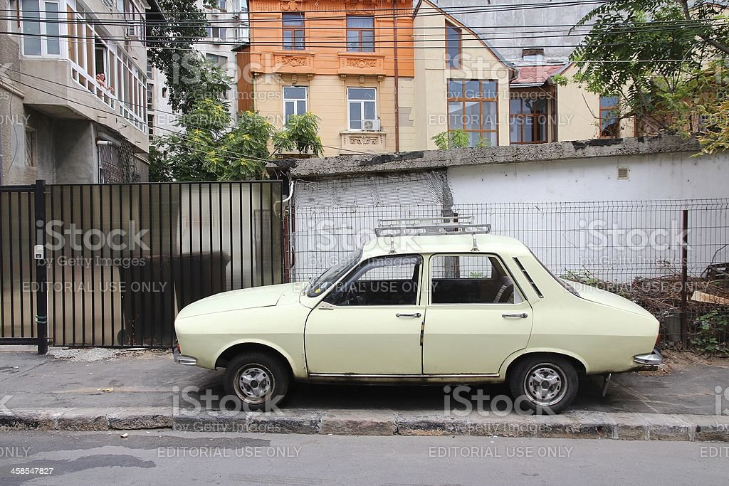 Dacia 1300 in Romania royalty-free stock photo